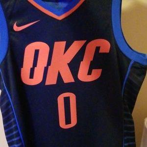 OKC Thunder Russell Westbrook Statement Jersey